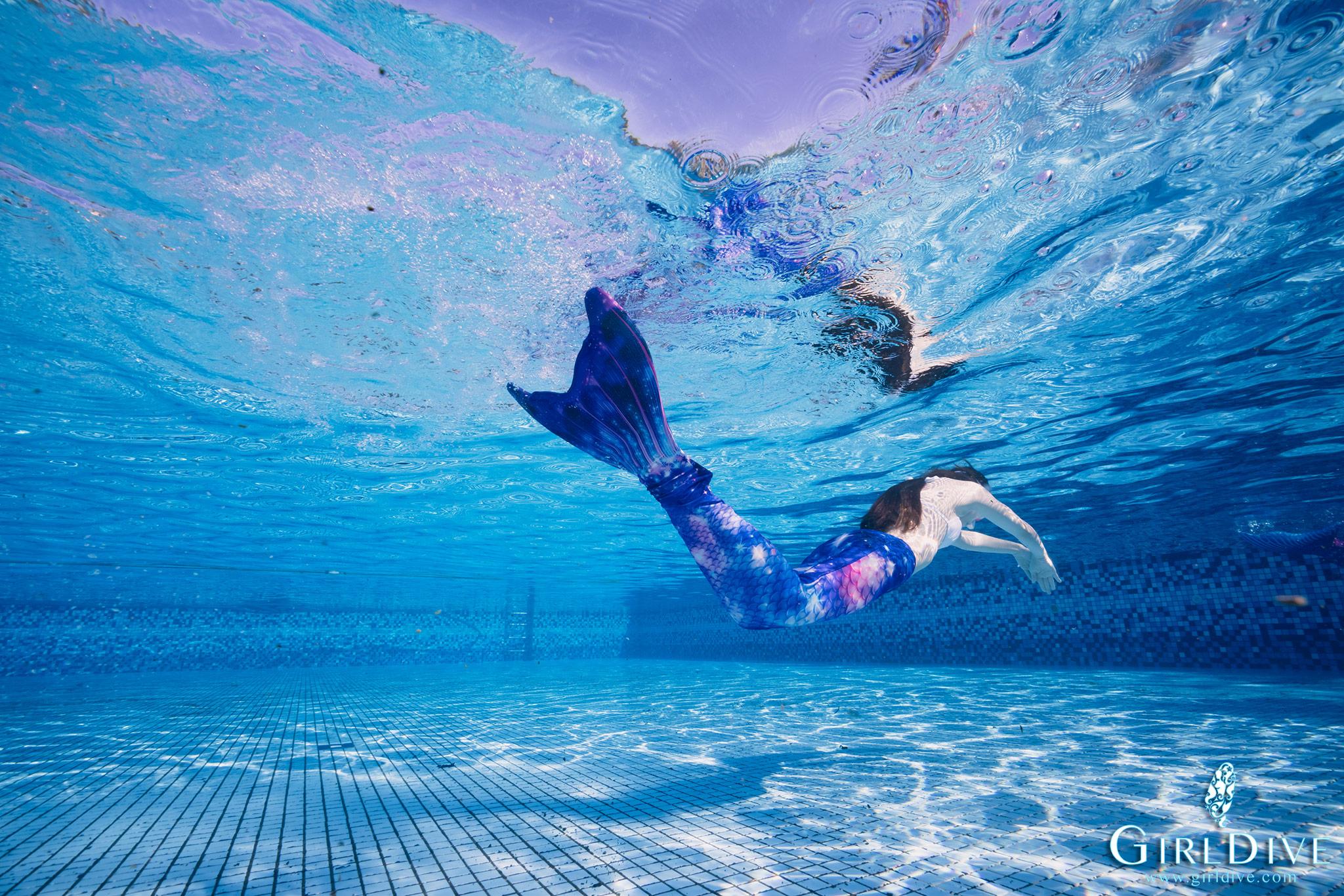 墾丁,美人魚,泳池,課程,水下攝影