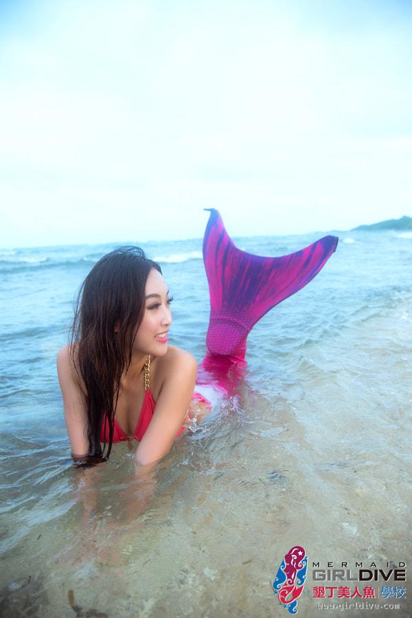 海洋女孩 小奈|Girldive 人魚夢17