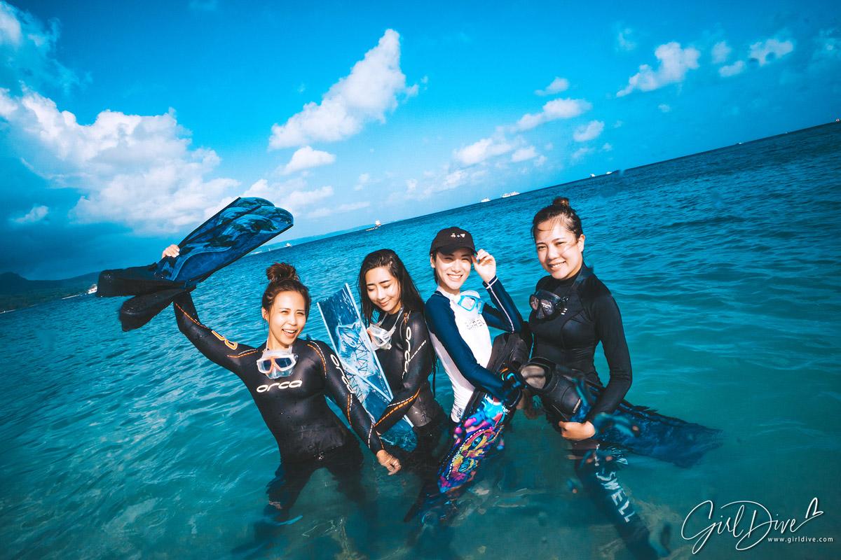 Freediving,墾丁,自由潛水,裝備,課程,aida