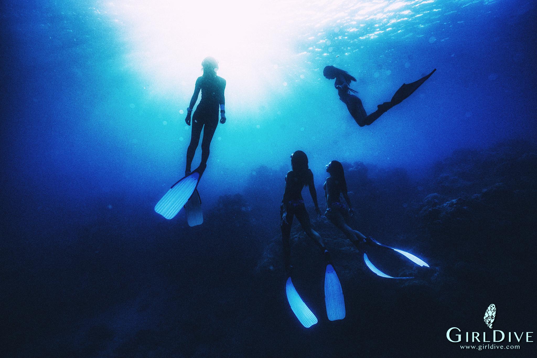 水中寫真,自由潛水,一口氣,海洋,