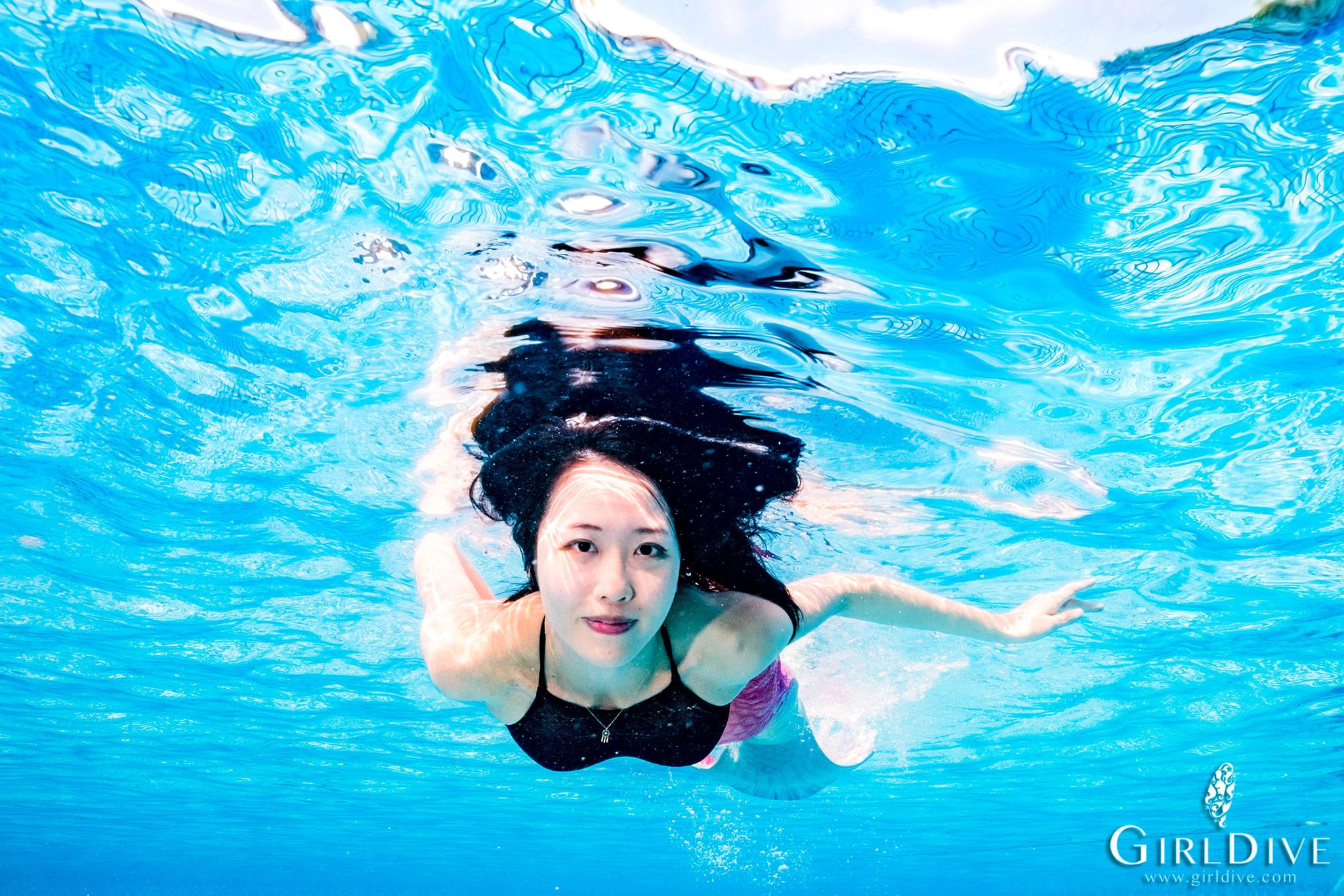 美人魚,泳池,墾丁,課程,水中寫真
