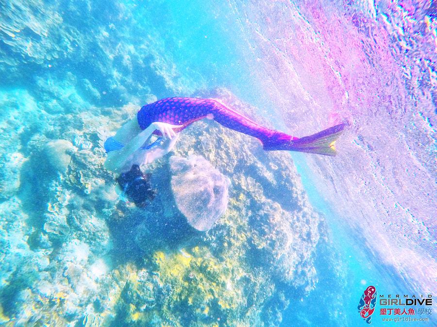 墾丁美人魚 黃巧綸|Girldive 人魚夢1