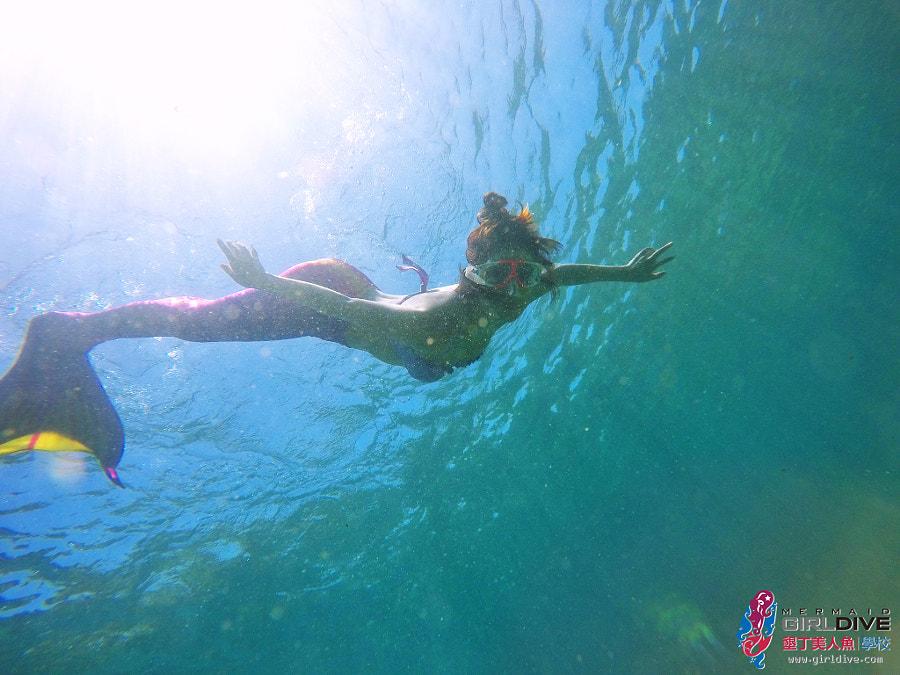 墾丁美人魚 黃巧綸|Girldive 人魚夢11