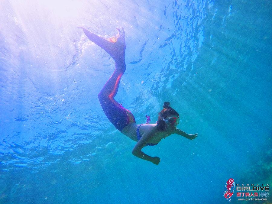 墾丁美人魚 黃巧綸|Girldive 人魚夢12