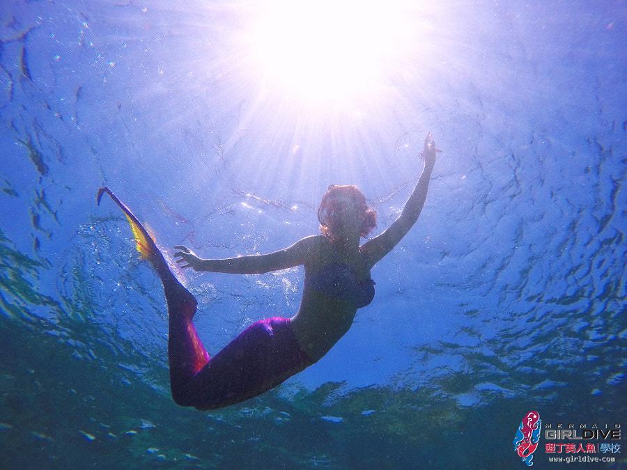 墾丁美人魚 黃巧綸|Girldive 人魚夢15