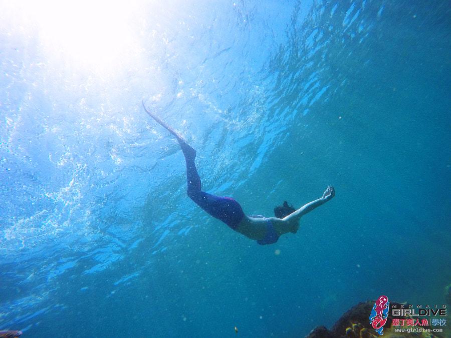 墾丁美人魚 黃巧綸|Girldive 人魚夢2