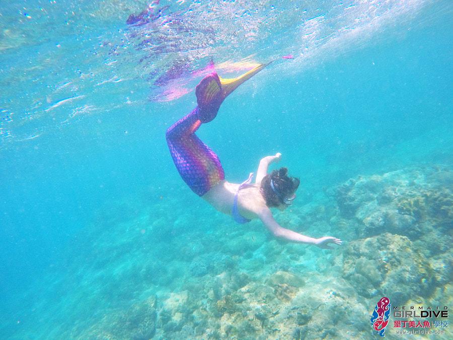 墾丁美人魚 黃巧綸|Girldive 人魚夢3
