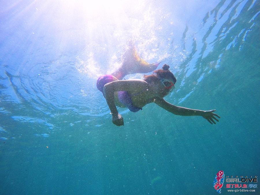 墾丁美人魚 黃巧綸|Girldive 人魚夢4