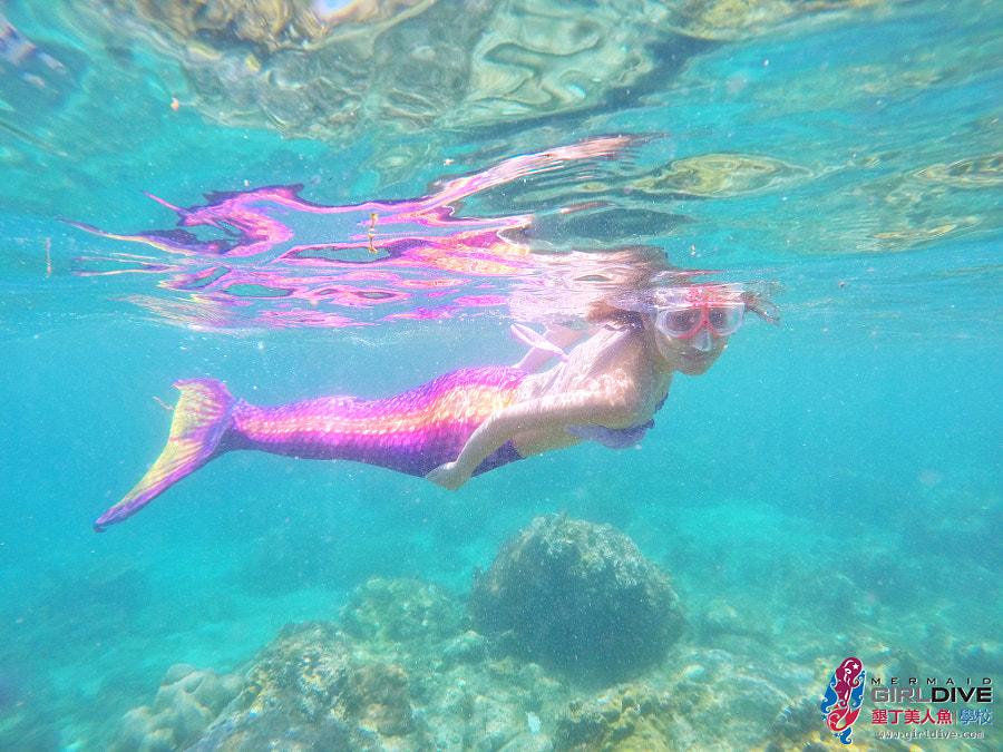 墾丁美人魚 黃巧綸|Girldive 人魚夢5