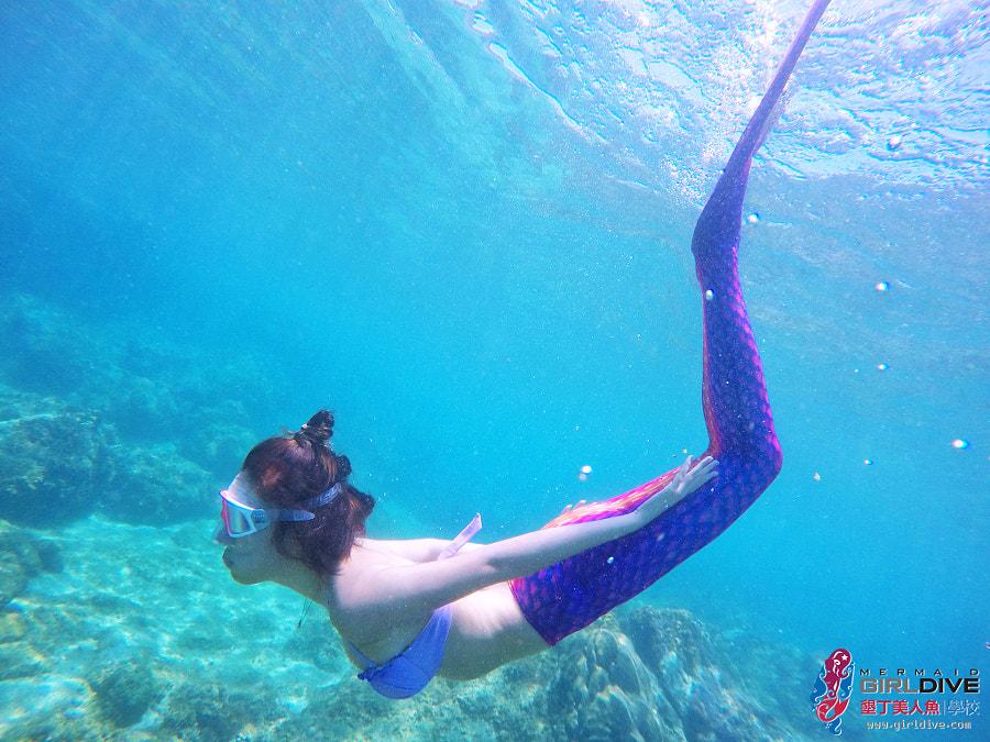 墾丁美人魚 黃巧綸|Girldive 人魚夢6