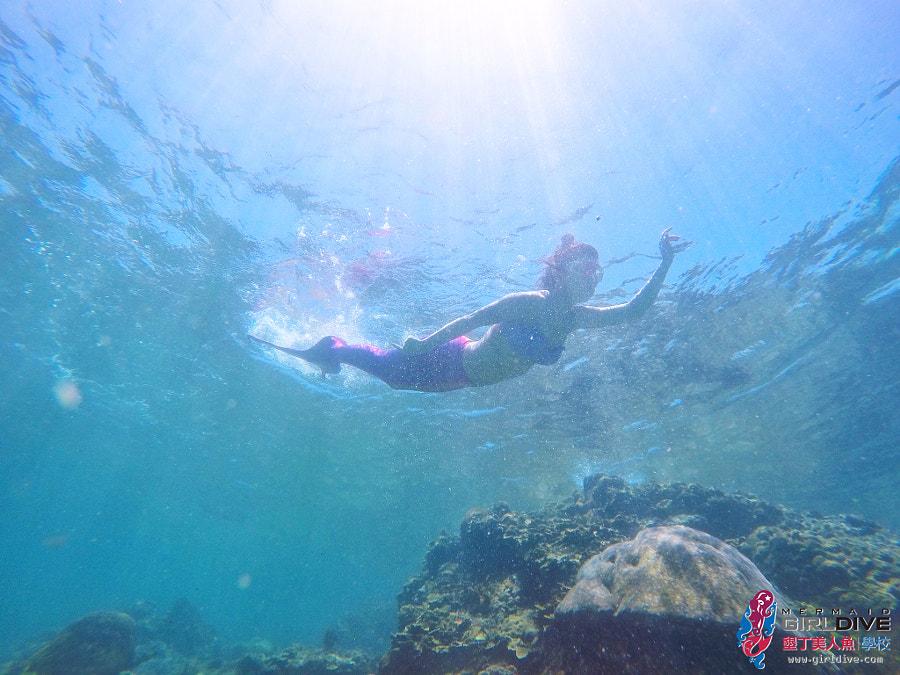 墾丁美人魚 黃巧綸|Girldive 人魚夢9