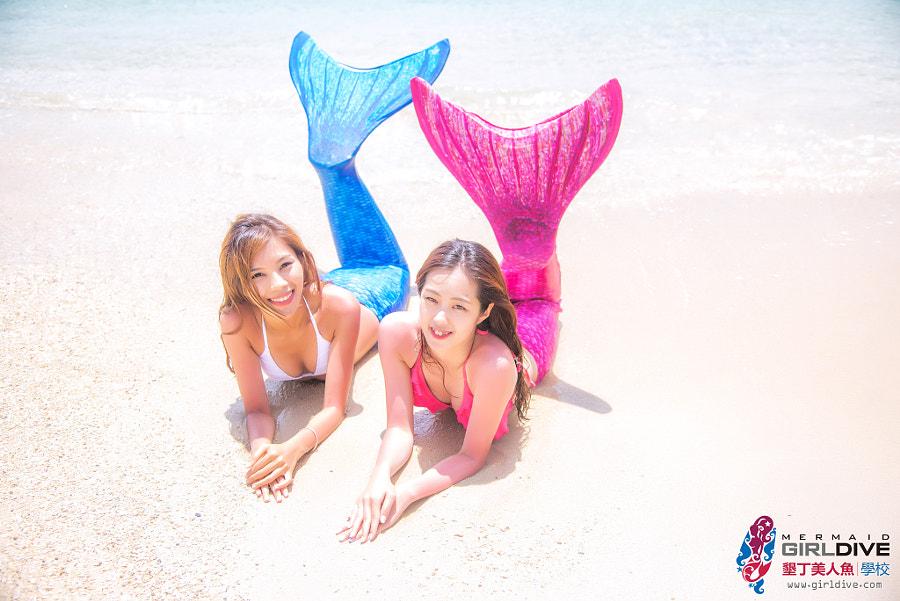 美人魚沙灘寫真-小婷&雅馨1