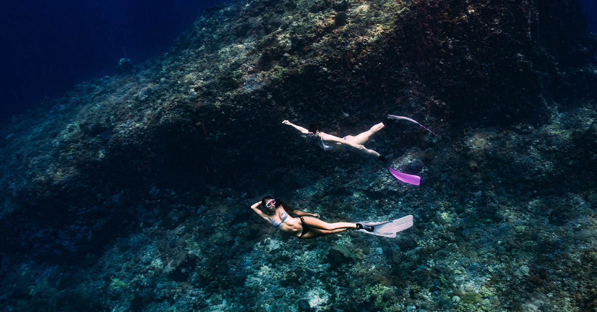 自由潛水,課程,技巧,初學者,閉氣