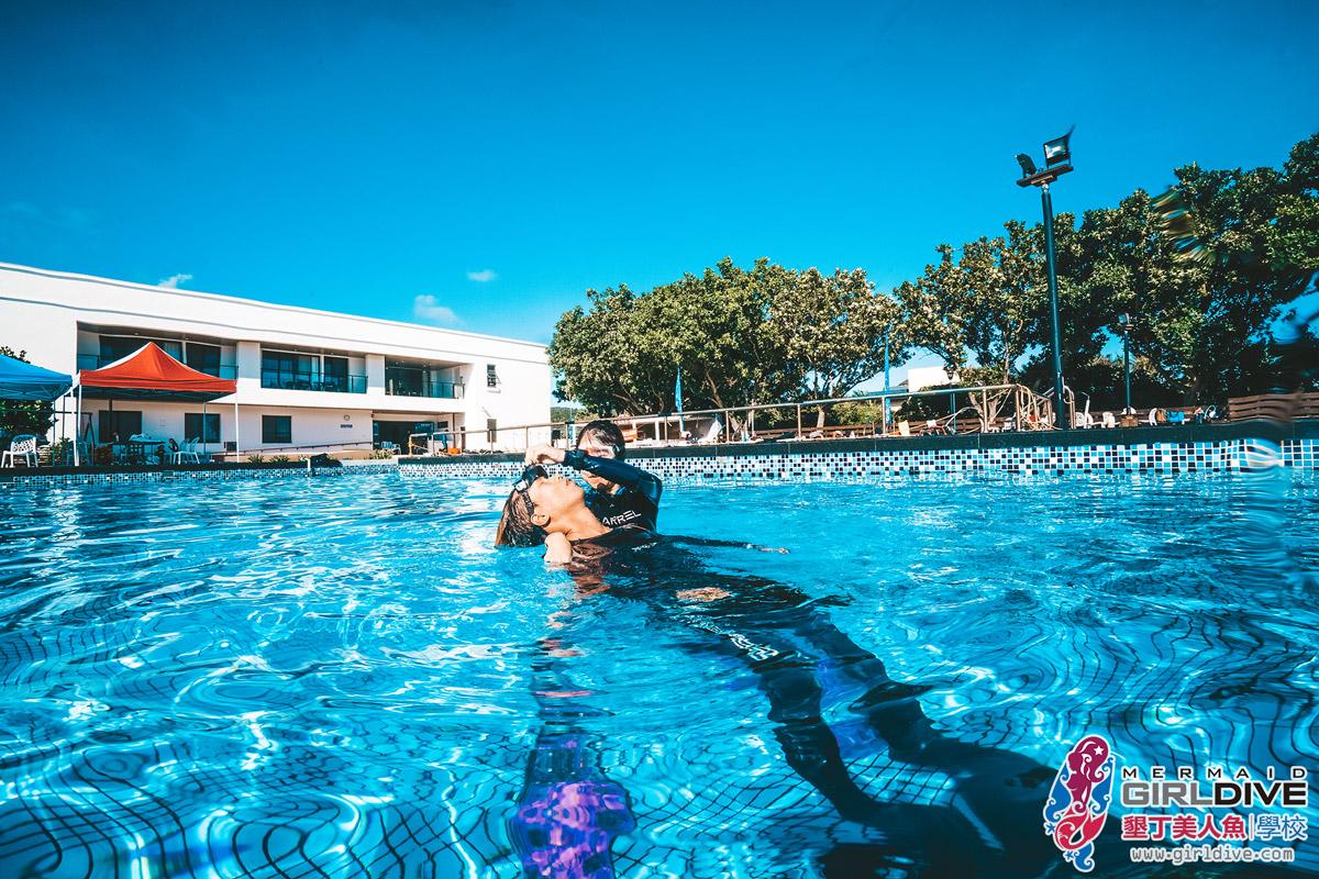 自潛體驗,泳池,救援,證照,課程