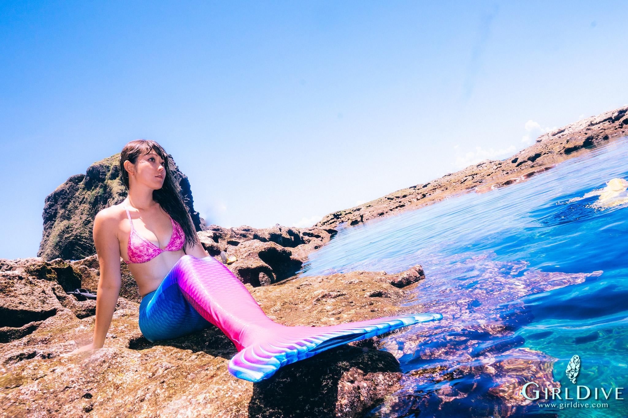 人魚尾巴,浮潛,攝影,潛水,瑜伽