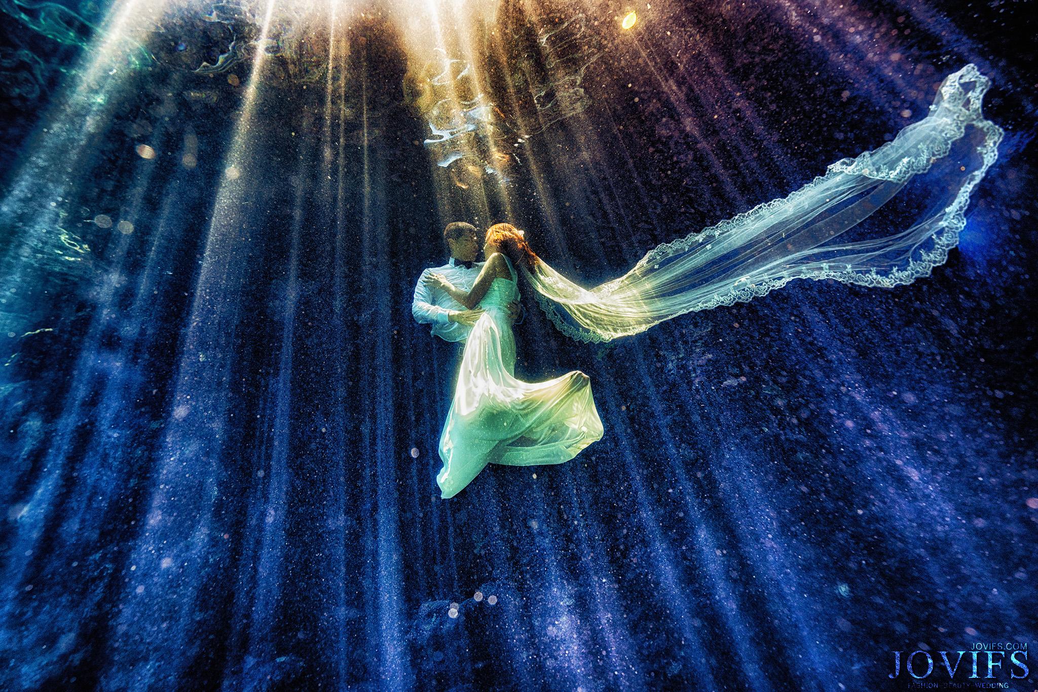 海底婚紗,水中寫真,婚禮,攝影,潛水